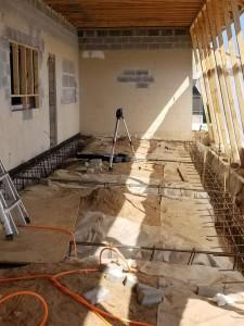 Concrete Layout