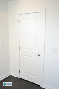 Door Trim & Drywall