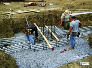 Install Rebar Area A Line P 5-8-08